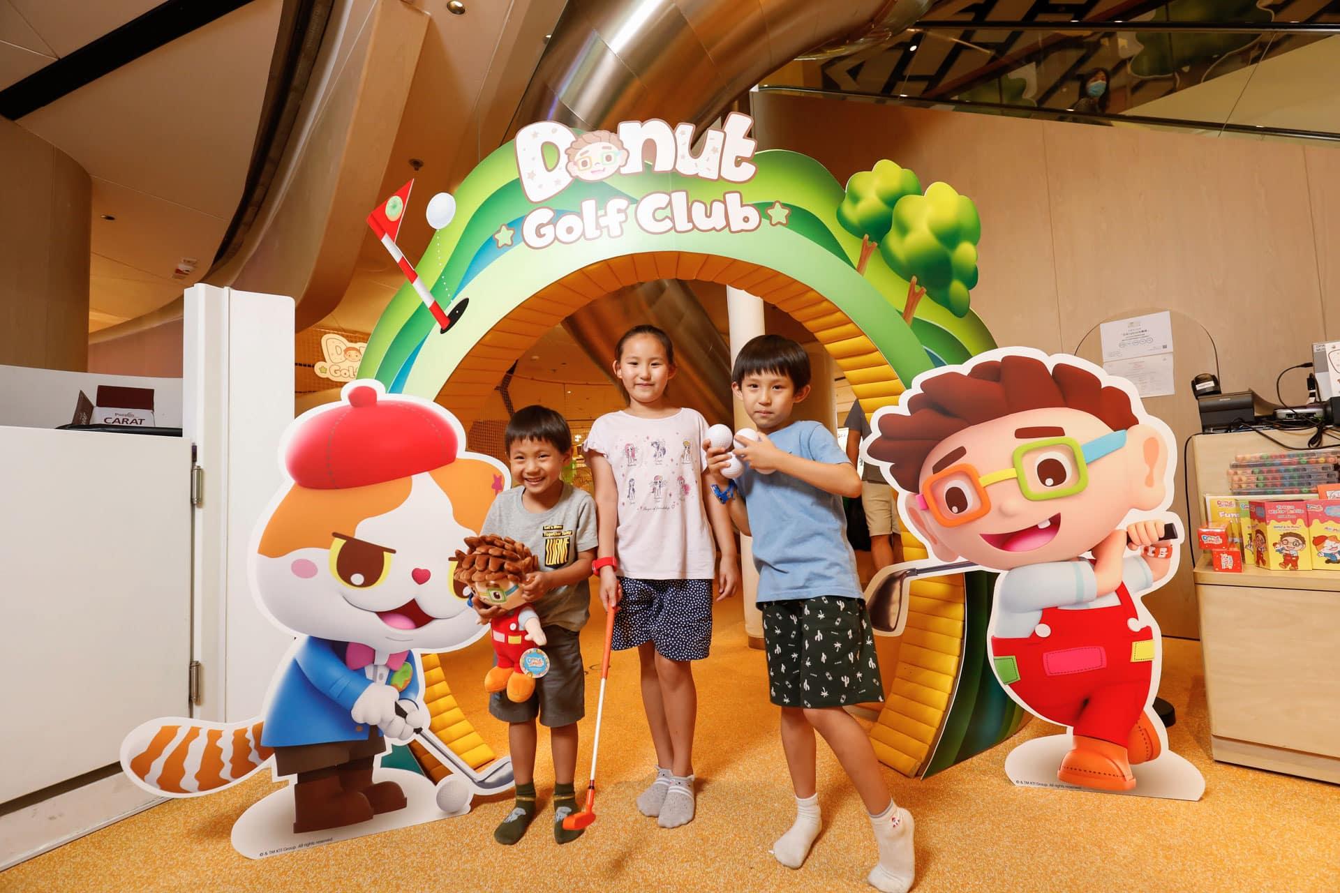 K11 MUSEA:Donut Playhouse夏日兒童嘉年華 全新遊戲 Donut Golf Club