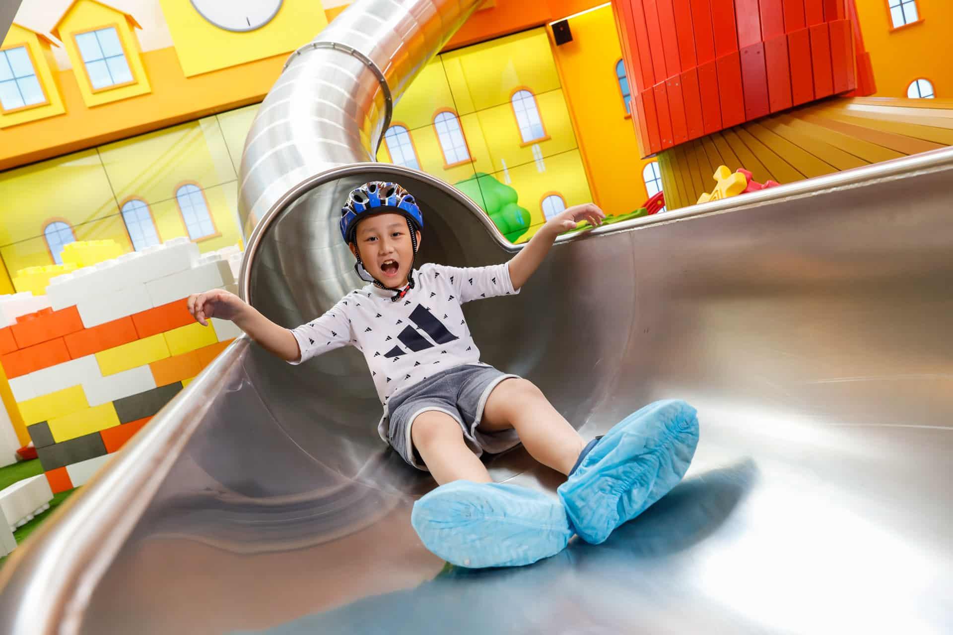 K11 MUSEA:Donut Playhouse夏日兒童嘉年華 巨型室內造型滑梯 Happy Mega Slide