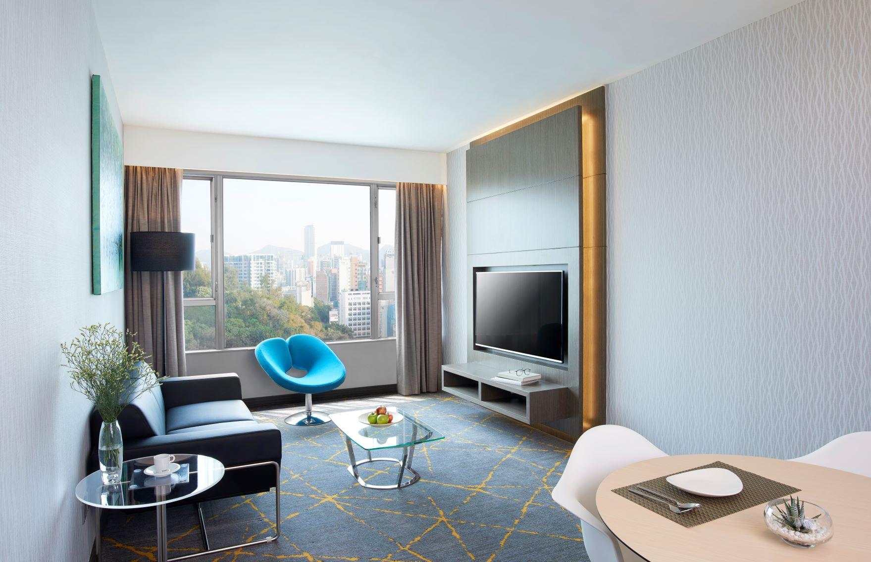 Work-from-hotel:城景國際商務及住宿套餐 尊貴套房