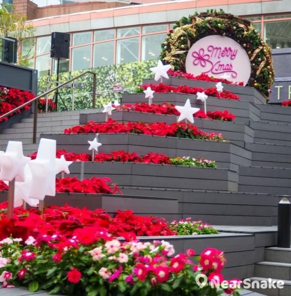 新都會廣場「星願聖誕及聖誕花海」2017