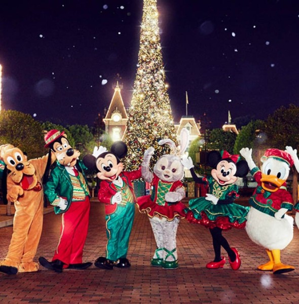 香港迪士尼樂園 A Disney Christmas 2017
