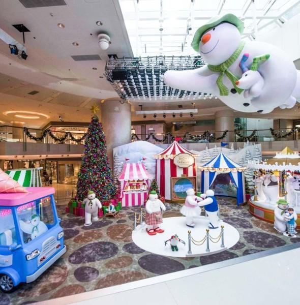 圓方 Elements《雪人與雪狗》聖誕巿集及展覽 2017