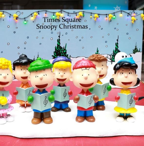 「史諾比在時代廣場過聖誕」2017