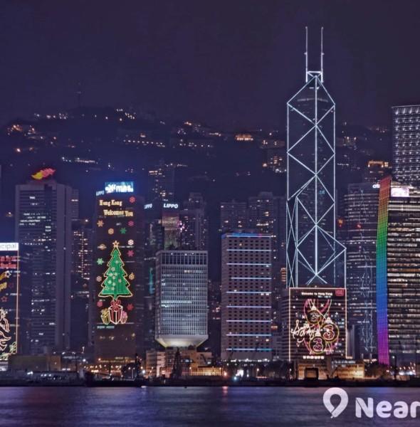 皇后像廣場:香港繽紛冬日節 2017