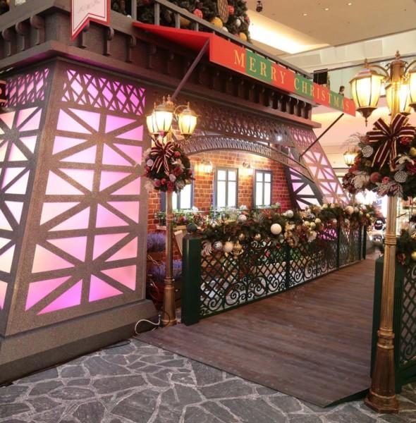 「又一城•快樂聖誕」聖誕佈置