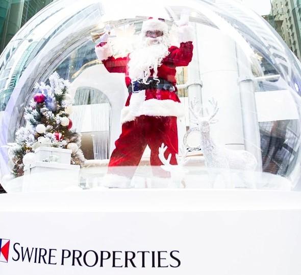 太古地產白色聖誕市集 2017:太古坊糖廠街