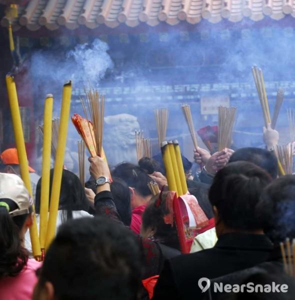 黃大仙祠上頭炷香 2019
