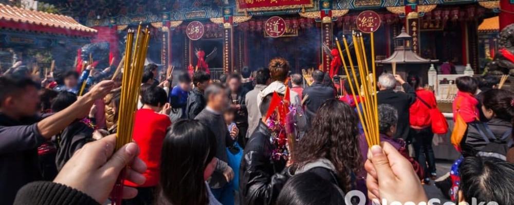 【香港農曆新年習俗】廟宇祈福參拜指南2018 黃大仙祠•車公廟•文武廟•觀音廟開放時間
