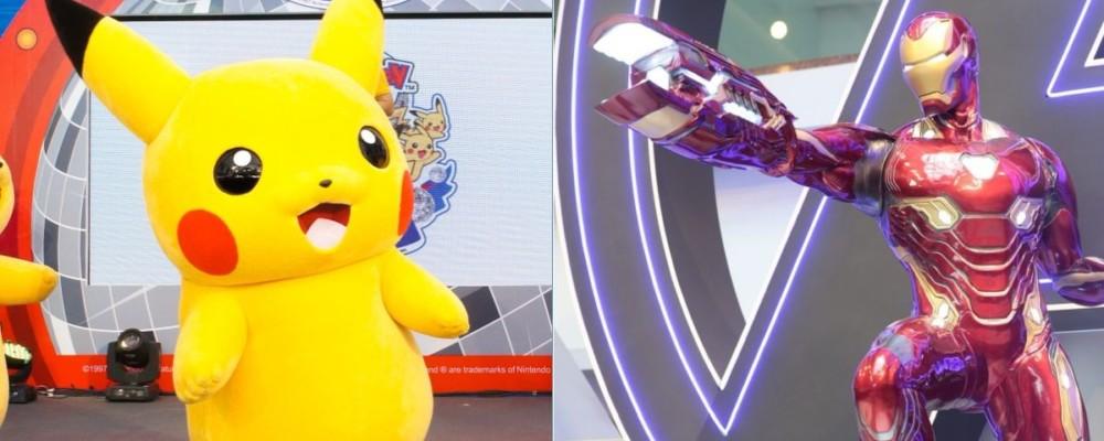 10 大動漫玩具主題商場活動集結 Pokémon 嘉年華•Marvel 復仇者聯盟展