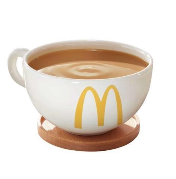 麥當勞全港奶茶日:分店免費派千杯奶茶