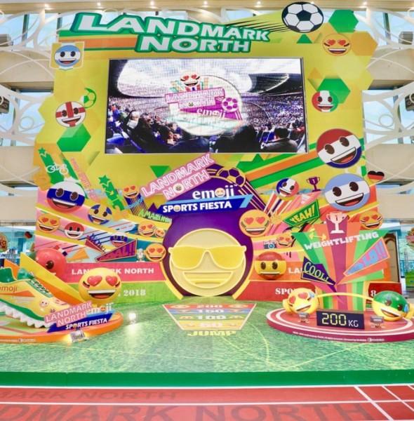 上水廣場 × emoji Sports Fiesta 2018