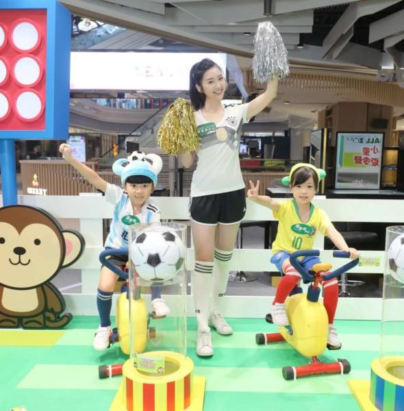 將軍澳中心商場:Football Zoo小小童足球夏令營