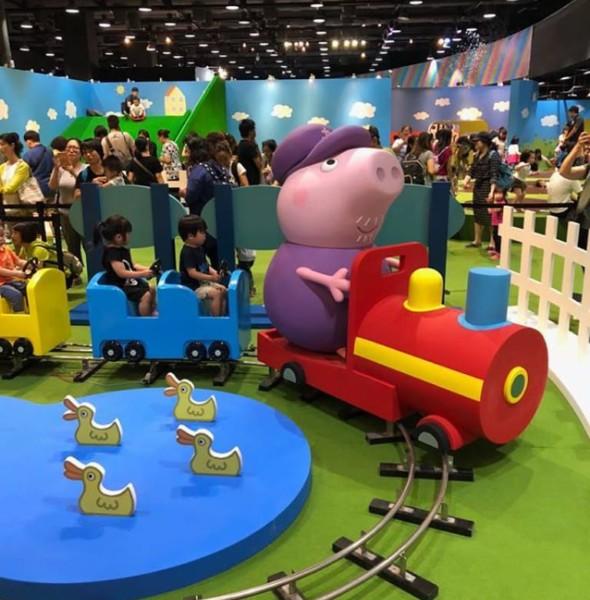 九展:Peppa Pig 動感假期室內互動遊樂場