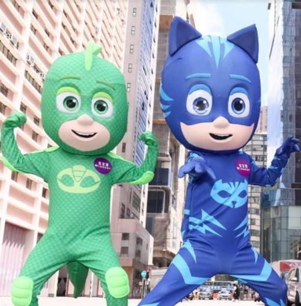 皇室堡 × PJ Masks 睡衣小英雄聯盟