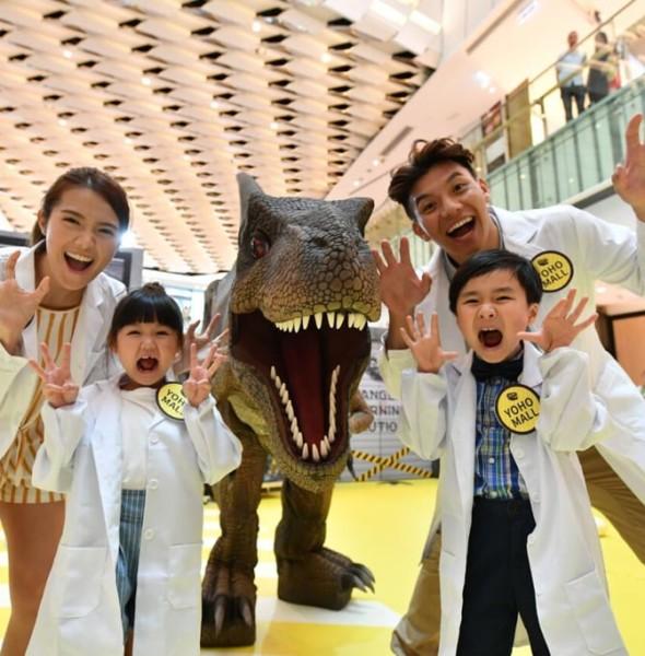 形點:#DINOLAB恐龍實驗室展覽