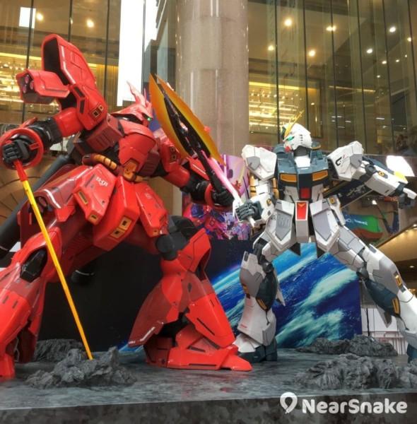 時代廣場:Gundam Docks at Hong Kong III 高達基地展覽
