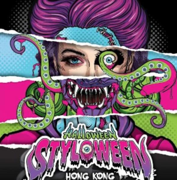 Fashion Walk:Halloween Styloween Zombie Walk 2018