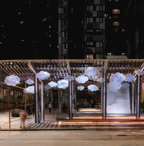 星街小區:中秋藝術裝置