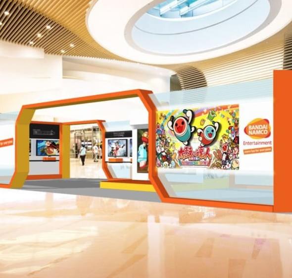 PopCorn商場:BANDAI NAMCO Entertainment遊戲嘉年華