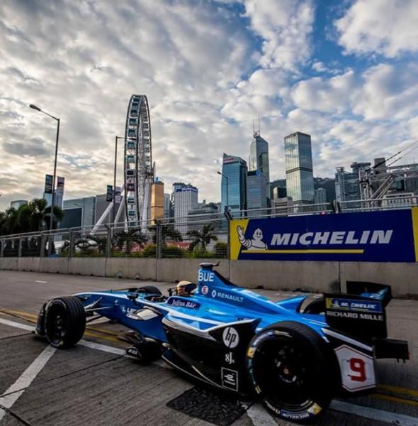 中環海濱:Formula E電動方程式大賽香港站2019