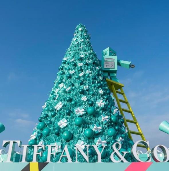 海運觀點:「The Holidays Made by Tiffany」聖誕佈置