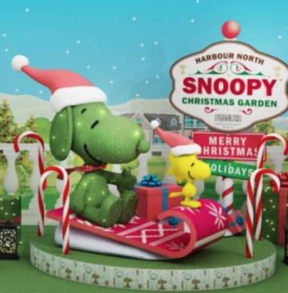 北角匯:Snoopy Christmas Garden