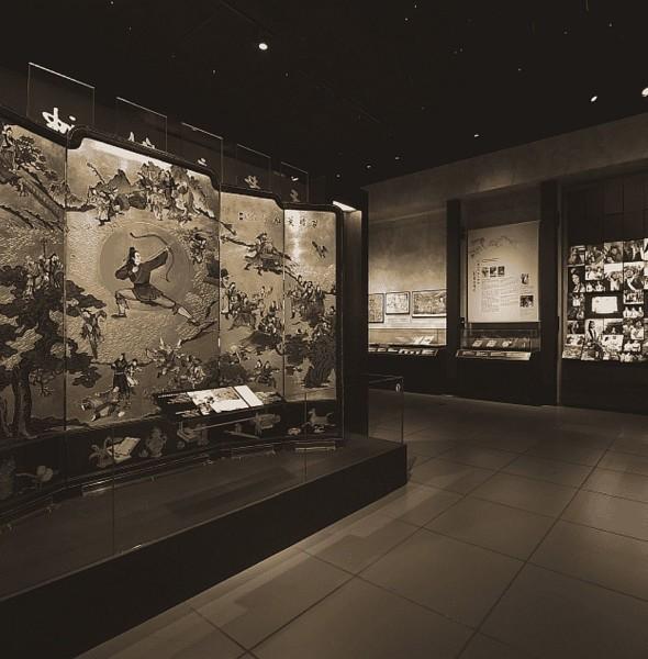 香港文化博物館:金庸館