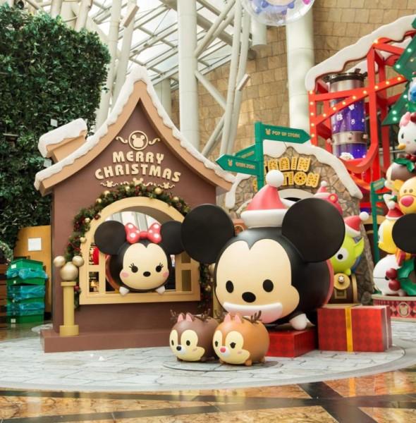 朗豪坊:迪士尼 Tsum Tsum 聖誕市集