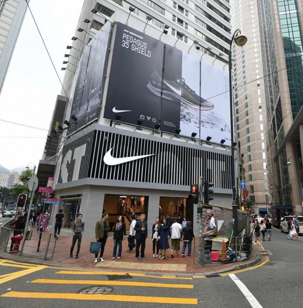 利園區:Nike 禮頓中心店開幕優惠
