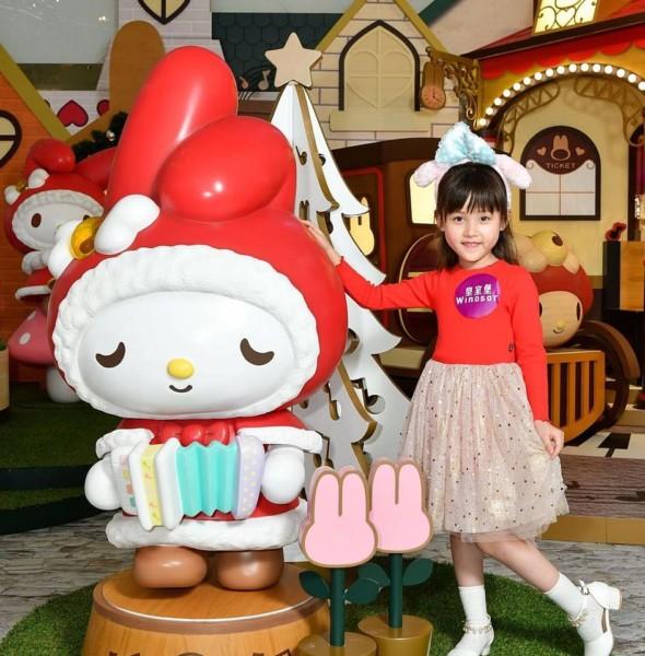皇室堡:My Melody 聖誕聲夢小鎮