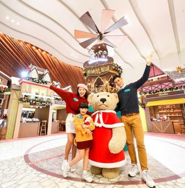 德福廣場:泰迪熊聖誕市集