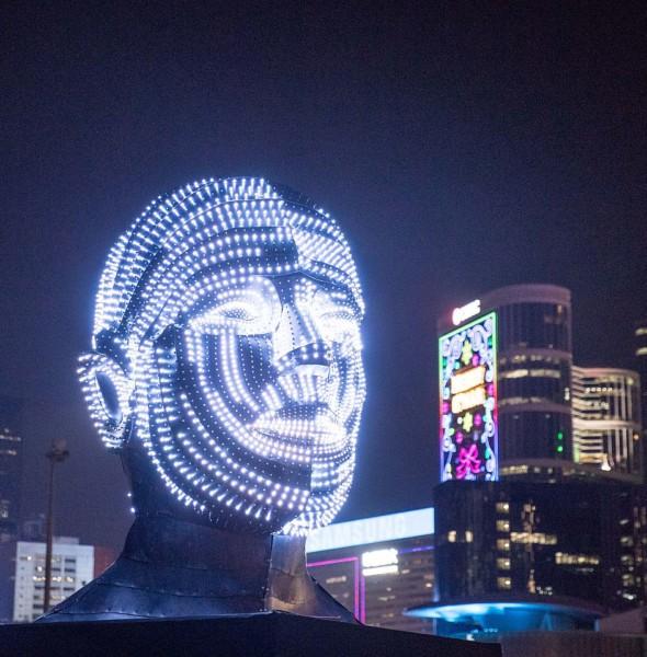 中環海濱:國際燈光藝術展
