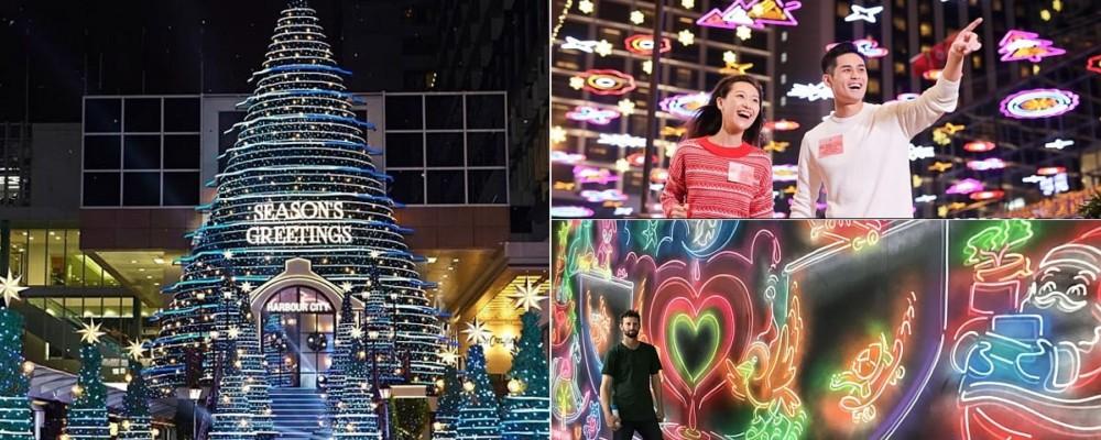 12大尖沙咀聖誕燈飾+商場聖誕佈置檢閱 尖東燈飾•海港城聖誕樹最吸睛