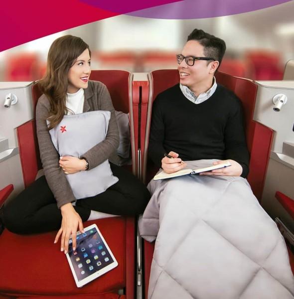 香港航空:生日「買一送一」升艙禮遇