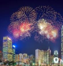 【十一國慶煙花2019】港島9大香港煙花觀賞地點 最佳睇煙花位置攻略