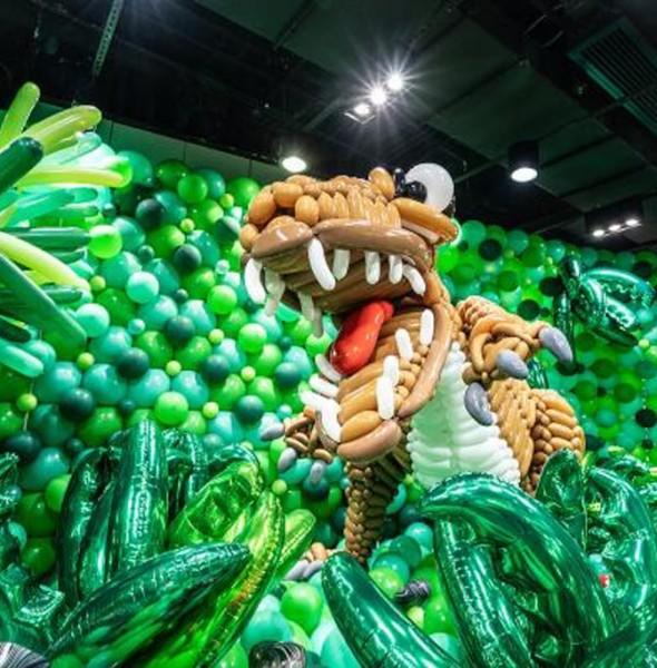 KCP九龍城廣場:「恐龍世界大冒險」氣球藝術展覽