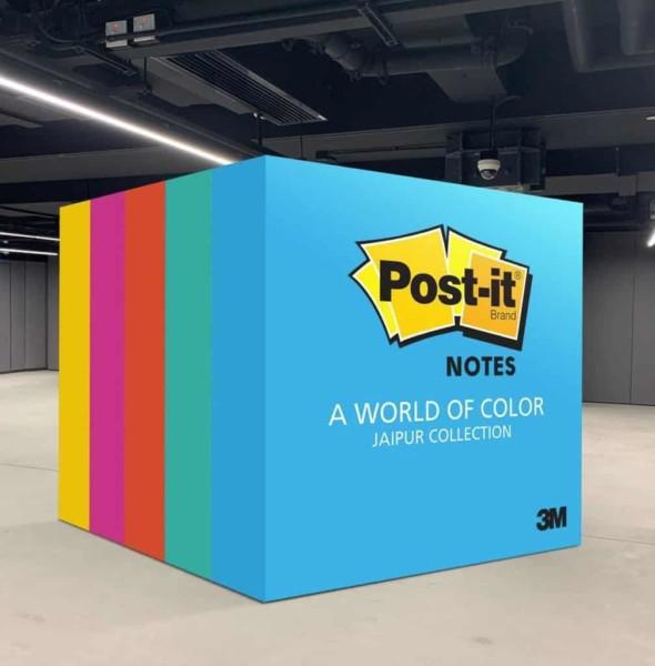 南豐紗廠:Post-it® Notes隨心寫•隨手貼 互動展覽