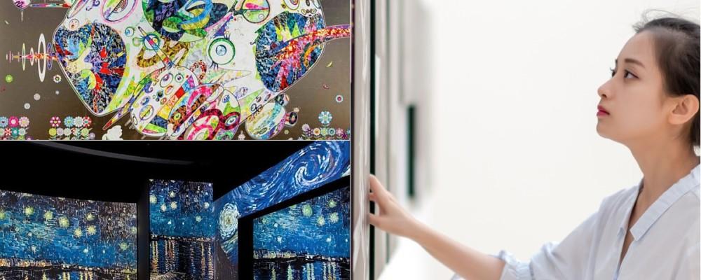 【雨天好去處】16大超人氣必逛展覽 村上隆作品展•梵高在世展•大英博物館藏品展