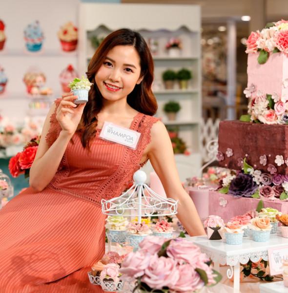 黃埔新天地:母親節「香皂花樣甜點屋」