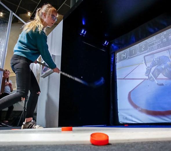 科學館:「冬季冰運會」展覽
