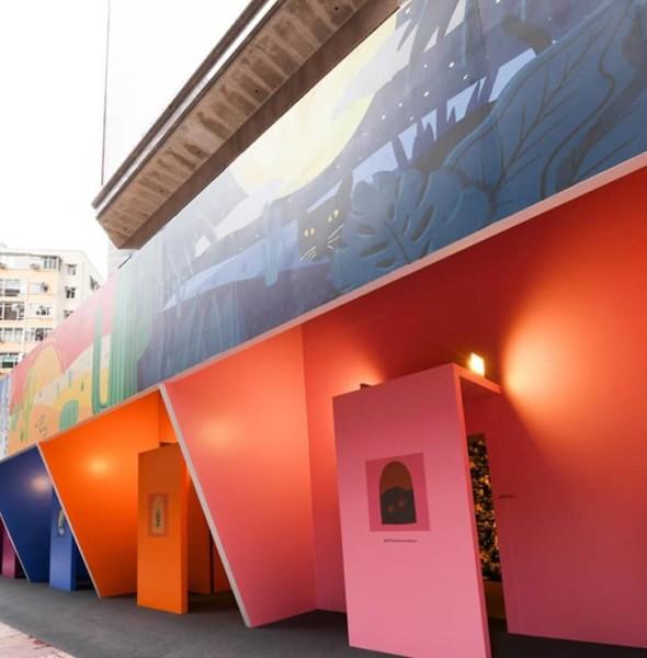 時代廣場:大自然彩色小屋