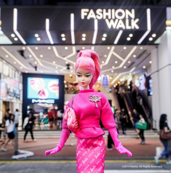 "Fashion Walk:Barbie 60週年特別企劃 ""You Can Be Anything"""