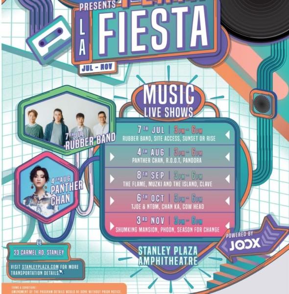赤柱廣場:Playa La Fiesta 海邊音樂派對