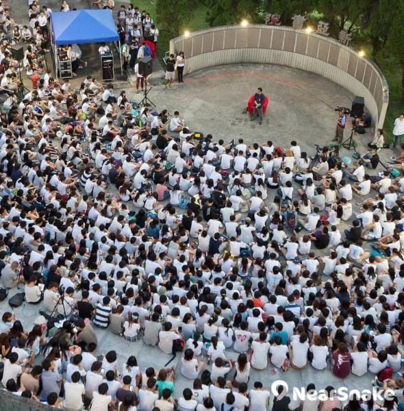 9.2 大專罷課集會