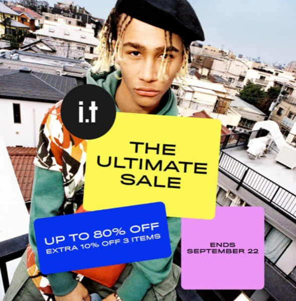 ITeSHOP Ultimate Sale SS19 激安大減價