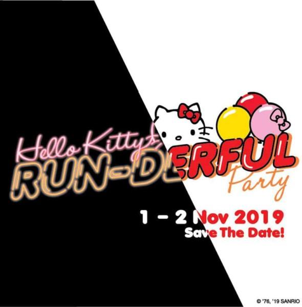 "Hello Kitty 45週年戶外慶生活動""Run-derful Party"""