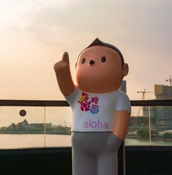 中港城:「天天向上」藝術展