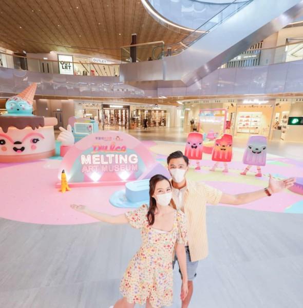 東薈城名店倉:Dulce融化夏日美術館