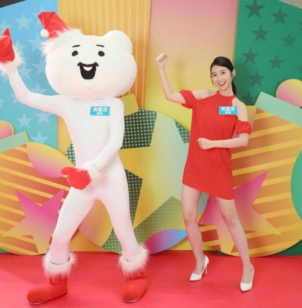 荷里活廣場x賤萌熊「舞動爆笑聖誕」