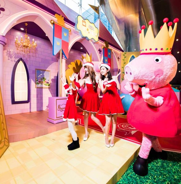 MegaBox x Peppa Pig 閃亮聖誕城堡 2017